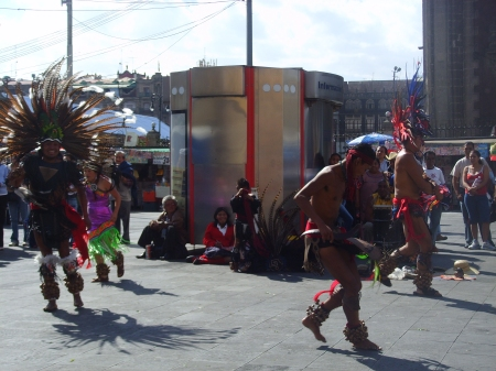Mexican Indians Dancing